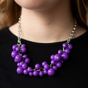 Walk This BROADWAY Purple necklace